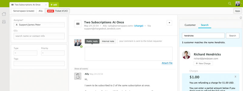 Integrate Zendesk with PayPal - ChargeDesk